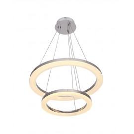Suspension moderne LED 2 Ring forme ronde