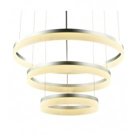 Suspension moderne LED 3 Ring forme ronde