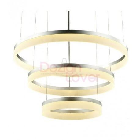 Suspension moderne LED 3 Ring forme ronde