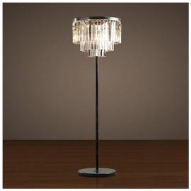 RH 1920S ODEON CLEAR GLASS FRINGE FLOOR LAMP DESIGN