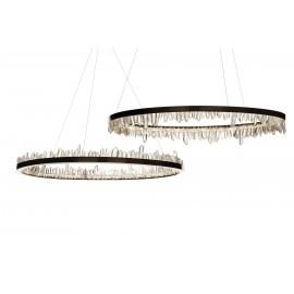 Chandelier lustre moderne LED Prometheus I+II en cristal