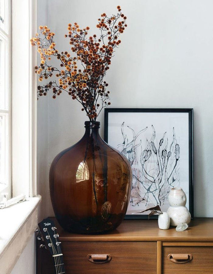 Dezign Lover Blog | Home design ideas - Dried flowers are increasingly popular in decoration