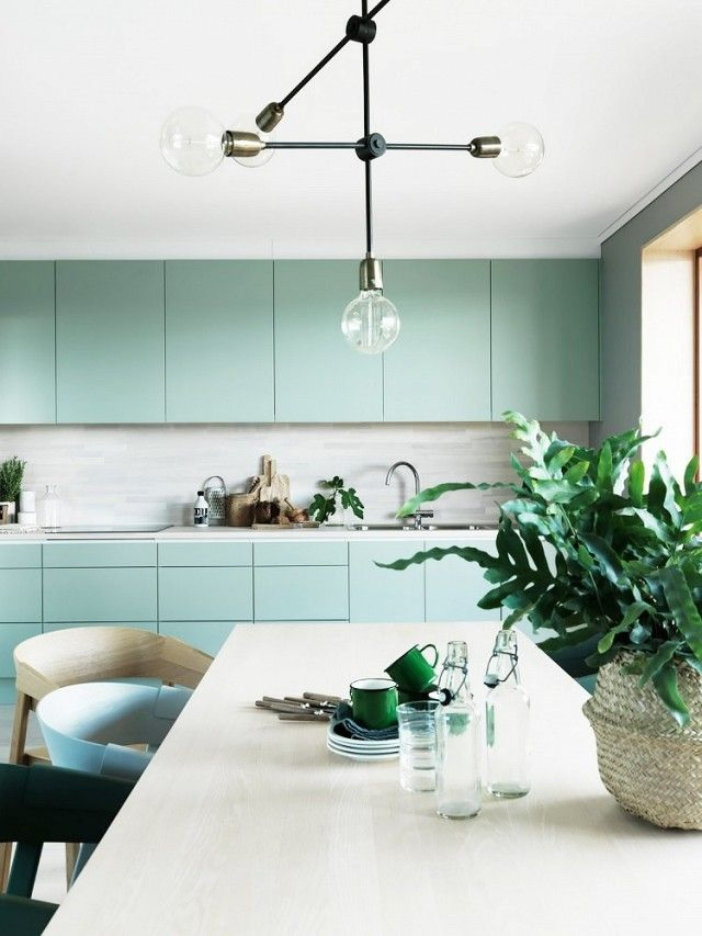 Dezign Lover Blog - Home Design Trend | This mint colour that gives pep's to the decor