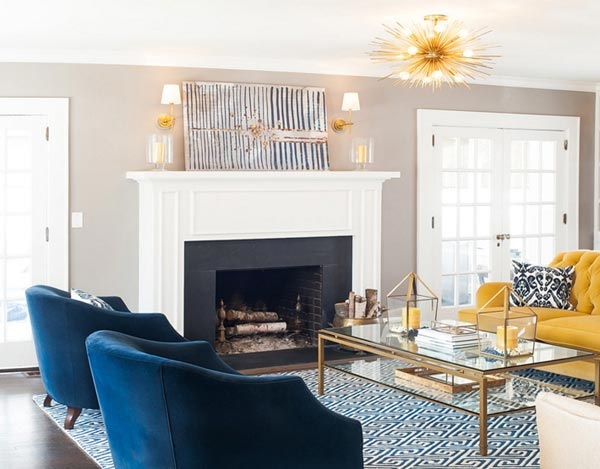 Dezign Lover Blog | Decoration trend for 2020: We love the navy blue!