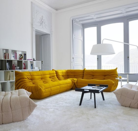 Dezign Lover Blog : Adopt curry yellow, this trendy color to spice up your home decor