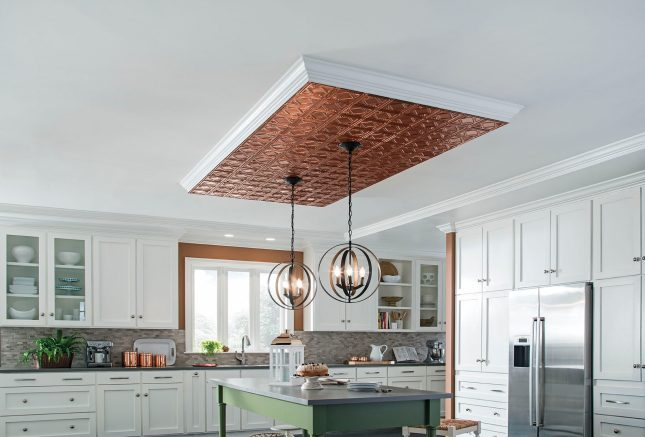 Dezign Lover Blog : Choose decorative metal ceiling for a touch of absolute elegance!
