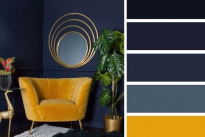 Decoration trend for 2020: We love the navy blue!