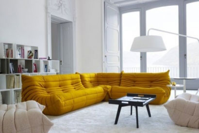 Adopt curry yellow, this trendy color to spice up your home decor
