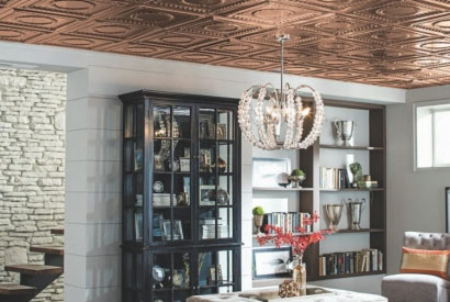 Choose decorative metal ceiling for a touch of absolute elegance!
