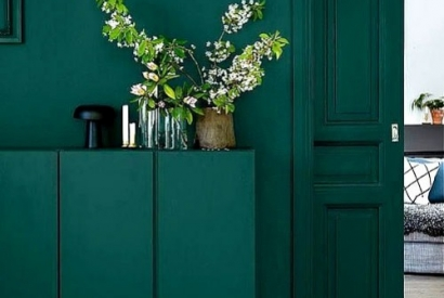 Sublimate your home with the pretty forest green